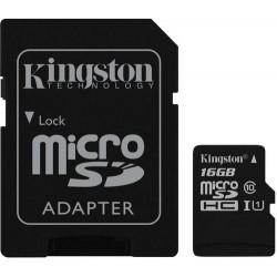 Kingston micro SDHC 16GB Class10 class10 UHS-I U1